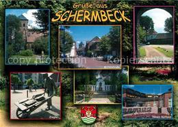 73214068 Schermbeck_Niederrhein Ev Kirche Mittelstrasse Reform Kirche Ziegler Eh - Germania