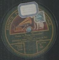 "78 Tours - NORY  - GRAMOPHONE 389  "" FATMA LA BRUNE "" + "" GEISHA QUE J'AIME "" - 78 T - Disques Pour Gramophone"