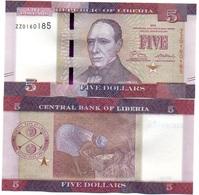 Liberia - 5 Dollars 2016 UNC Serie ZZ Lemberg-Zp - Liberia
