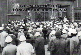 SYNDICAT CGT - Métallurgie  SIDERURGIE USINOR LONGWY - Comité Du 21 12 1978 - Sindacati