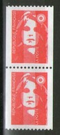 Paire N° 2819**-2819a**_N° Rouge En Gomme Brillante - 1989-96 Marianne (Zweihunderjahrfeier)