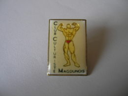 Club Culturiste Magdunois - Badges