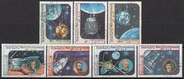 LAOS 766-772,used,falc Hinged - Space
