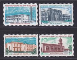 AFARS ET ISSAS N°  343 à 346 ** MNH Neufs Sans Charnière, TB (D6856) Edifices Publics - Afars & Issas (1967-1977)