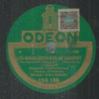 """78 Tours - M. ROQUE  - ODEON 166186  """" LES MOUSQUETAIRES AU COUVENT """" + """" RIP """" - 78 T - Disques Pour Gramophone"""