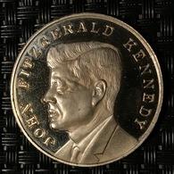 JOHN FITZGERALD KENNEDY 1917 1963 - Elongated Coins