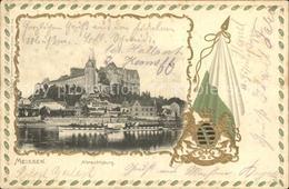 42397451 Meissen Elbe Sachsen Burgberg Albrechtsburg Wappen Krone Meissen - Meissen