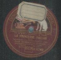 "78 Tours - MAREK WEBER  - GRAMOPHONE 6740  "" LA PRINCESSE DOLLAR "" + "" LA DIVORCEE "" - 78 T - Disques Pour Gramophone"