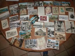 CPA Vrac 40 Unités (drouilles Et Divers) - Cartes Postales