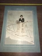 1903 RARE PORTRAIT ALBERTO SANTOS DUMONT AVIATEUR - Collections