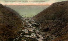 1908   JAMESTOWN LOOKING NORTH IE FROM TOP BOTTOM ST HELENA - Saint Helena Island