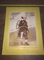 1903 RARE PORTRAIT ELLEGAARD CYCLISTE - Collections