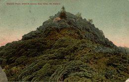 1908  SIANA'S PEAK ABOVE SEA LEVEL ST HELENA - Saint Helena Island
