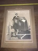 1903 RARE PORTRAIT GABRIEL AUTOMOBILE PILOTE AUTO - Collections