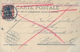 1903 , ALEMANIA , TARJETA POSTAL CIRCULADA , DRESDEN - WERDAU - Cartas