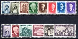 Albania 1939-40 Set To 5f Mounted Mint. - Albania