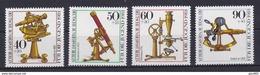 Berlino 1981 UN Serie N. 602-605 MNH Postfrisch Cat. € 5,50 - Ungebraucht