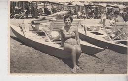 Anzio Fotocartolina Spiaggia Pattino 1959  G/t - Lieux