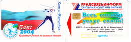 Phonecard   Russia. Khanty- Mansiysk  1000 Units - Russia