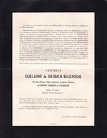 FAULX-LES-TOMBES Comtesse De DIESBACH BELLEROCHE Née Marie-Thérèse De PIERPONT SURMONT De VOLSBERGHE 1955 Lisieux - Avvisi Di Necrologio