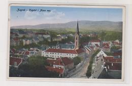 CROATIA ZAGREB Nice Postcard - Croatia