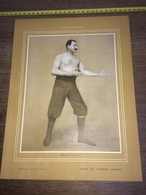 1903 RARE PORTRAIT PAUL PONS LUTTEUR - Collections