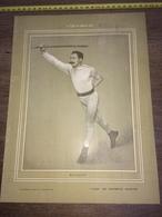 1903 RARE PORTRAIT MAINGUET CHAMPION DE CANNE - Collezioni