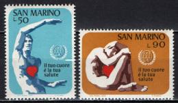 SAN MARINO - 1972 - ANNO DEL CUORE - MNH - Saint-Marin