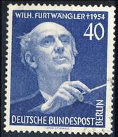 Berlino 1955 UN N. 113 Pf. 40 MNH Postifrisch Cat. € 23 - Ungebraucht