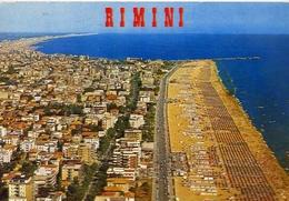 Rimini - Veduta Aerea Della Magnifica Spiaggia - 15797 - Formato Grande Viaggiata – E 5 - Rimini