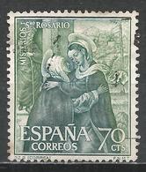 Spain 1962. Scott #1141 (U) Mysteries Of The Rosary, The Visitation, Correa * - 1961-70 Oblitérés