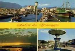 Saluti Da Viareggio - Formato Grande Viaggiata – E 5 - Viareggio