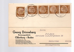 Georg Drinneberg Kartonagenfabrik Offenburg Baden > Kerstant V.d. Bergelaan Hillegersberg (181) - Alemania