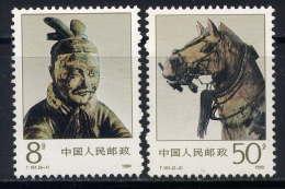 CHINE - 2998/2999** -CHARIOTS DE BRONZE - 1949 - ... People's Republic