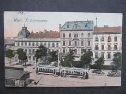 AK WIEN X. Columbusplatz Strassenbahn 1916 ///  D*31220 - Andere