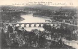 92 - Le Pont De SEVRES, BOULOGNE, St-CLOUD Et Le Mont-Valérien - Sevres