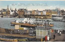 ANTWERPEN - St-Anna West, Aanlegplaats Overzetboot - Antwerpen