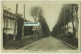 19. - LOUVECIENNES. - Route De Saint-Germain - Louveciennes