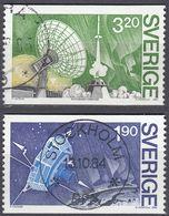 SVERIGE - SVEZIA - 1984 - Serie Completa Obliterata Yvert 1287/1288; 2 Valori. - Gebraucht