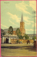 Collection-Singap (UNC) 1900s CONVENT HOLY INFANT  JESUS CHIJ 1854, 30 Victoria Street - Max H Hilckes N° 208 - Cpa Old - Singapore