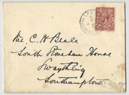 Grossbritannien - Beleg Nach Southampton 1929 (558919) - 1902-1951 (Kings)