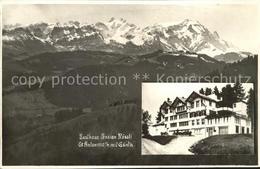 12315939 St Anton Oberegg Gasthaus Pension Roessli Mit Saentis Appenzeller Alpen - AI Appenzell Rhodes-Intérieures