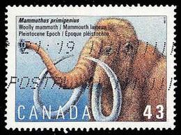 Canada (Scott No.1532 - Mamiferes Prehistorique / Prehistorique Mammals) (o) - Prehistorisch