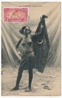 CPA - DJIBOUTI - Beauté Somali - Cachet La Réunion à Marseille N°7 - 1913 - Djibouti