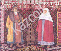Kazakhstan 2001 . Traditional Costumes. - Kazakhstan