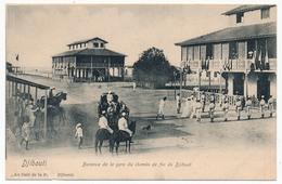 CPA - DJIBOUTI - Bureaux De La Gare Du Chemin De Fer De DJIBOUTI - Djibouti