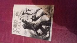 Affichette Publicitaire 12x17 Cm L'ombre Rouge Flanders Edmund Bell Lefrancq - Affiches & Offsets