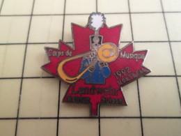 PIN413g Pin's Pins / Rare Et Beau : MUSIQUE MILITAIRE TROMBONE CORPS DE MUSIQUE DE LANDWEHR CANADA 1992 - Music