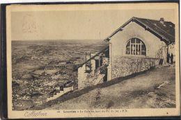 65321. LOURDES . LA GARE EN HAUT DU PIC DU JER. (recto/verso) - Lourdes