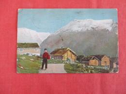 Denmark Stamp & Cancel Gudbrandsdalens Boghandel Ringebu  --ref 2926 - Denmark